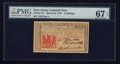 Colonial Notes:New Jersey, New Jersey March 25, 1776 6s PMG Superb Gem Unc 67 EPQ.. ...