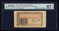 Colonial Notes:New Jersey, New Jersey March 25, 1776 John Hart Signed 12s PMG Superb Gem Unc 67 EPQ.. ...