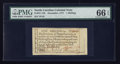 Colonial Notes:North Carolina, North Carolina December, 1771 1s PMG Gem Uncirculated 66 EPQ.. ...
