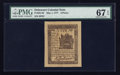 Colonial Notes:Delaware, Delaware May 1, 1777 6d PMG Superb Gem Unc 67 EPQ.. ...