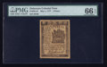 Colonial Notes:Delaware, Delaware May 1, 1777 3d PMG Gem Uncirculated 66 EPQ.. ...