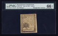 Colonial Notes:Pennsylvania, Pennsylvania June 18, 1764 3d PMG Gem Uncirculated 66 EPQ.. ...