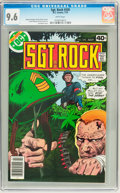 Bronze Age (1970-1979):War, Sgt. Rock #330 (DC, 1979) CGC NM+ 9.6 White pages....