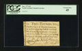 Colonial Notes:North Carolina, North Carolina December, 1771 £2 PCGS Extremely Fine 45.. ...