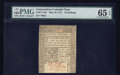 Colonial Notes:Connecticut, Connecticut May 10, 1775 40s PMG Gem Uncirculated 65 EPQ.. ...