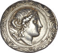 Ancients:Greek, Ancients: MACEDON UNDER ROME. First Meris or Province (ca. 167-149BC). AR tetradrachm (16.85 gm)....