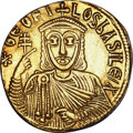 Ancients:Byzantine, Ancients: Theophilus (AD 829-842). AV solidus (4.45 gm). ...