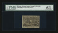Fractional Currency:Second Issue, Milton 2E25FR.2 Second Issue 25¢ Experimental PMG ChoiceUncirculated 64 EPQ.. ...