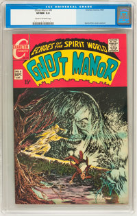 Ghost Manor #8 (Charlton, 1969) CGC VF/NM 9.0 Cream to off-white pages