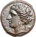 Ancients:Greek, Ancients: Syracuse. Hieron II (275-216 BC). AE 20mm (5.57 gm). ...