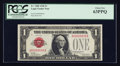 Small Size:Legal Tender Notes, Low Serial Number Fr. 1500 $1 1928 Legal Tender Note. PCGS Choice New 63PPQ. ...