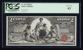 Large Size:Silver Certificates, Fr. 247 $2 1896 Silver Certificate PCGS Gem New 65.. ...
