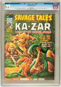 Magazines:Superhero, Savage Tales #8 (Marvel, 1975) CGC NM+ 9.6 White pages....