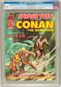 Magazines:Superhero, Savage Tales #5 (Marvel, 1974) CGC NM+ 9.6 Off-white to whitepages....