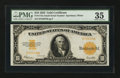 Large Size:Gold Certificates, Fr. 1173a $10 1922 Gold Certificate PMG Choice Very Fine 35.. ...