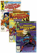 Modern Age (1980-Present):Superhero, The Amazing Spider-Man Group (Marvel, 1982-86) Condition: AverageNM-.... (Total: 31 Comic Books)