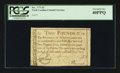 Colonial Notes:North Carolina, North Carolina December, 1771 £2 PCGS Extremely Fine 40PPQ.. ...