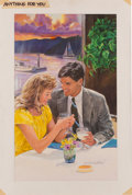Original Comic Art:Covers, Norm Eastman Anything For You Paperback Cover IllustrationOriginal Art (Mills & Boon, 1990)....