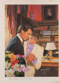 Original Comic Art:Covers, Norm Eastman Bride For a Price Paperback Cover IllustrationOriginal Art (Mills & Boon, 1989)....