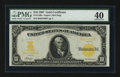 Large Size:Gold Certificates, Fr. 1169a $10 1907 Gold Certificate PMG Extremely Fine 40.. ...