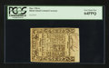 Colonial Notes:Rhode Island, Rhode Island May 1786 6s PCGS Very Choice New 64PPQ.. ...