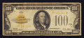 Small Size:Gold Certificates, Fr. 2405 $100 1928 Gold Certificate.. ...