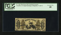 Fractional Currency:Third Issue, Fr. 1363 50¢ Third Issue Justice. PCGS Extremely Fine 40.. ...