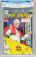 Modern Age (1980-Present):Miscellaneous, The Life of Pope John Paul II #1 (Marvel, 1982) CGC NM/MT 9.8 White pages....