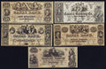 Obsoletes By State:Louisiana, New Orleans, LA - Canal Bank Group Lot $5, $10, $20, $50; $50.. ... (Total: 5 notes)