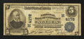 National Bank Notes:Missouri, Saint Louis, MO - $5 1902 Plain Back Fr. 601 The NB of Commerce Ch.# (M)4178. ...