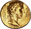 Ancients:Roman Imperial, Ancients: Augustus (27 BC-AD 14). AV aureus (7.80 gm). ...