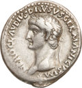 Ancients:Roman Imperial, Ancients: Nero Claudius Drusus, father of Claudius (died 9 BC). ARdenarius (3.72 gm). ...