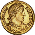 Ancients:Roman Imperial, Ancients: Valens (AD 364-378). AV solidus (4.45 gm). ...