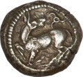 Ancients:Greek, Ancients: LYCIAN DYNASTS. Kuprlli (ca. 470/60-440/35 BC). AR stater(8.28 gm). ...