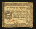 Colonial Notes:Pennsylvania, Pennsylvania October 25, 1775 2s 6d Very Fine.. ...