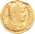 Ancients:Roman Imperial, Ancients: Jovian (AD 363-364) and Valentinian I (AD 364-375). Lotof two gold solidi.... (Total: 2 coins)