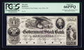 Obsoletes By State:Michigan, Ann Arbor, MI- Government Stock Bank $1 June 1, 1850 G1 Lee ANN-4-2 proof. ...
