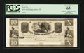 Obsoletes By State:Michigan, Detroit, MI- The Bank of Michigan $10 G28 Lee DET-6-32 Proof. ...