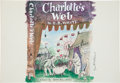 Miscellaneous, Garth Williams. Original painting for an unused dust jacket design,Charlotte's Web.... (Total: 2 Items)