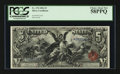 Large Size:Silver Certificates, Fr. 270 $5 1896 Silver Certificate PCGS Choice About New 58PPQ.....