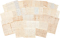 Autographs:Military Figures, Kentucky Slavery Archive, containing over thirty-five legal documents regarding slaves and freedpersons dating between 1814 ... (Total: 35 Items)