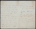 "Autographs:Authors, Charles Darwin Letter Signed with a postscript in Darwin's hand.Three pages, 5"" x 8"", ""Down. Bromley. Kent. S.E.,"" Marc..."
