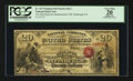 National Bank Notes:Pennsylvania, Pittsburgh, PA - $20 Original Fr. 427 The Merchants &Manufacturers NB Ch. # 613. ...