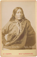 American Indian Art:Photographs, SPOTTED TAIL . c. 1890...