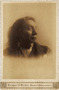 American Indian Art:Photographs, RED CLOUD . c. 1890...