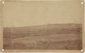 American Indian Art:Photographs, 7TH CAVALRY RETURNING TO PINE RIDGE AFTER FIGHT WITH BIG FOOT'SBAND AT WOUNDED KNEE CREEK. c. 1890...
