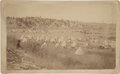 American Indian Art:Photographs, BIRD'S EYE VIEW OF GEN. BROOK'S CAMP AT PINE RIDGE AGENCY, S. D.. .c. 1890...