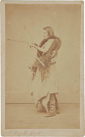 American Indian Art:Photographs, BLACK FORD. c. 1868...