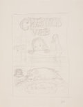 Miscellaneous, Garth Williams. Unused dust jacket design, Charlotte'sWeb....