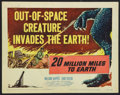 """Movie Posters:Science Fiction, 20 Million Miles to Earth (Columbia, 1957). Title Lobby Card (11"""" X14""""). Science Fiction.. ..."""